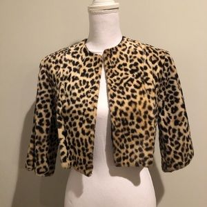 Jackets & Coats - ❤️🔥🌸 💼Cropped Leopard print Jacket💕🎉